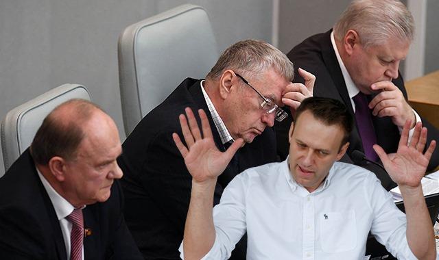 Rusya'da muhaliflere 'Hain' damgası vurmayı seviyor!