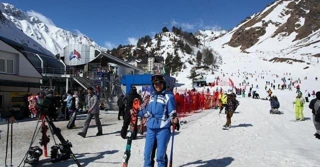Oşhamafe(Elbruz)'de Kayak Sezonu Kasım Ayında Başlıyor