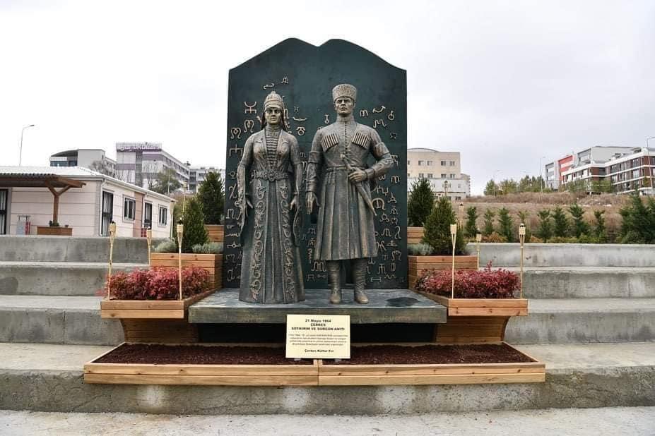 'Çerkes Soykırım ve Sürgünü Anıtı' Açılış Töreni Yapıldı
